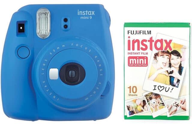 Fuji Instax mini 9 instant camera and films